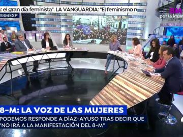Qúe es el 8M en voz de las mujeres de los principales partidos