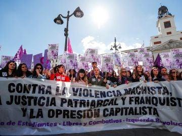 Huelga feminista en Madrid
