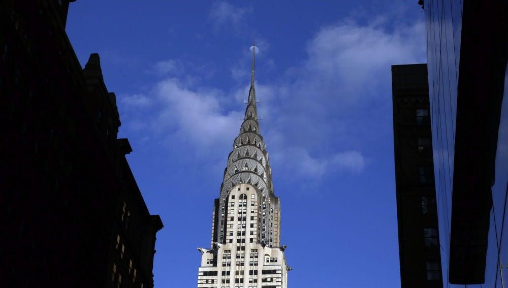 Detalle del edificio Chrysler en Manhattan, Nueva york