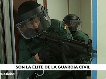 Así se entrenan los Grupos de Acción Rápida de la Guardia Civil
