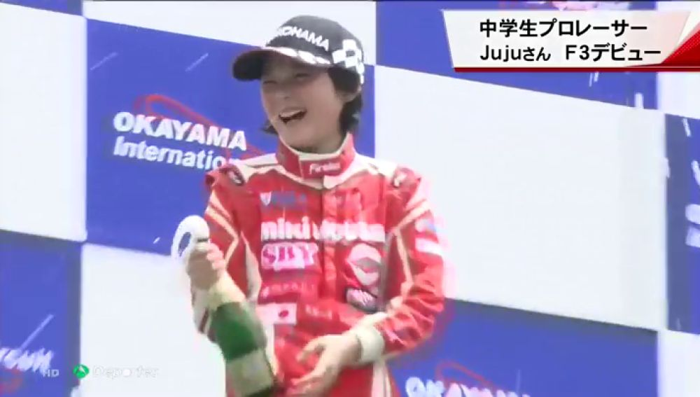 """Juju Noda, la joven piloto de 13 años que asombra al mundo del motor: """"Mi sueño es ser campeona de F1"""""""