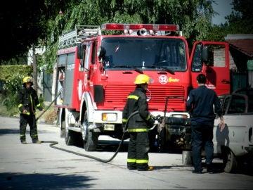 Camión de bomberos en Argentina (archivo)