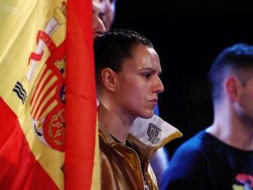 Joana Pastrana, tras revalidar su título de campeona del mundo