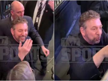 James Dolan echa a un aficionado del Madison Square Garden