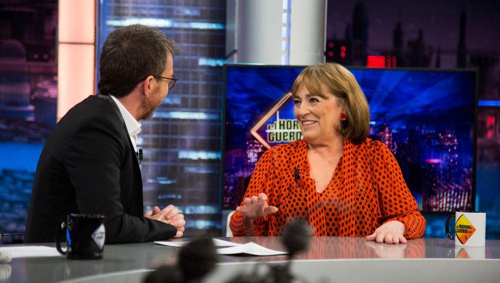 Carmen Maura opina sobre los candidatos a las elecciones del 28-A en 'El Hormiguero 3.0'