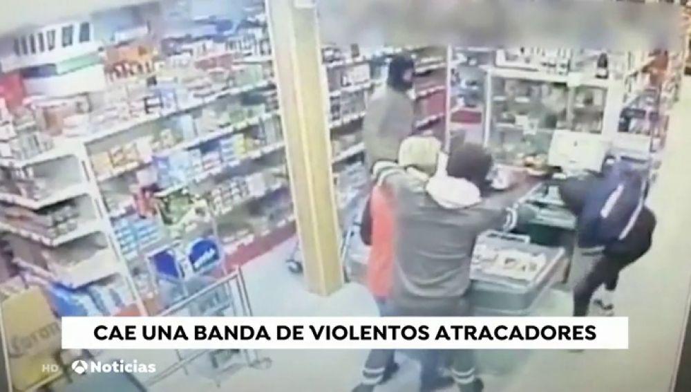 Cae una violenta banda de atracadores en Granada