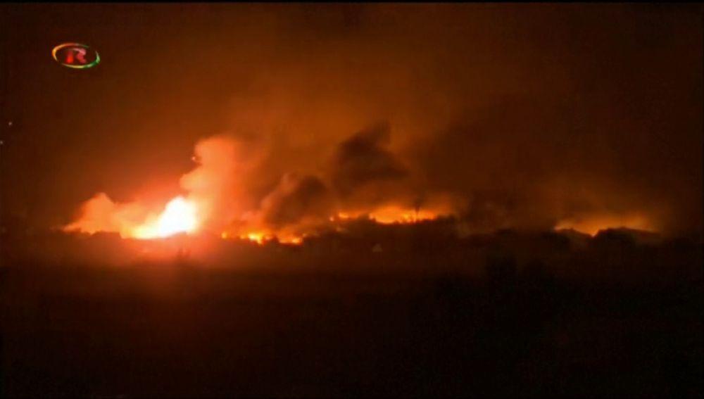 Las Fuerzas Democráticas Sirias atacan Baghouz, el enclave del Estado Islámico en Siria