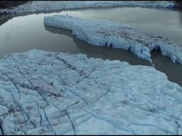 Alarma en la Patagonia por la ruptura de un glaciar