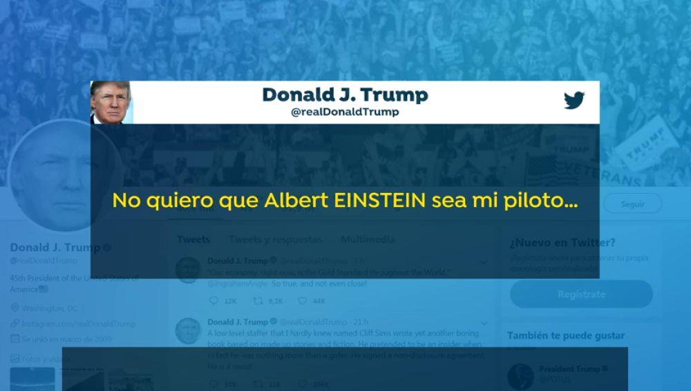 """Donald Trump aboga por aviones """"más simples"""" tras el accidente en Etiopía"""