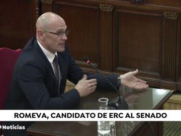 Romeva, encarcelado, también será candidato de Esquerra