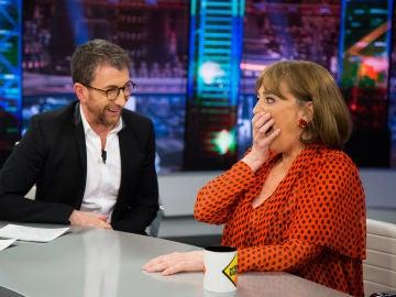 Carmen Maura y Pablo Motos reflexionan sobre el perdón y el rencoroso en 'El Hormiguero 3.0'