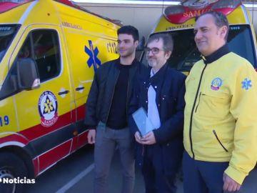 'La cadena de la vida': La iniciativa que une a los sanitarios del Samur y ciudadanos anónimos con pacientes a los que salvaron la vida
