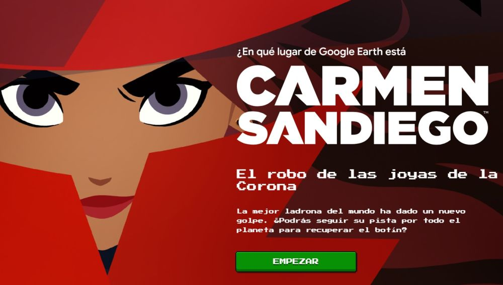 El videojuego de Carmen Sandiego
