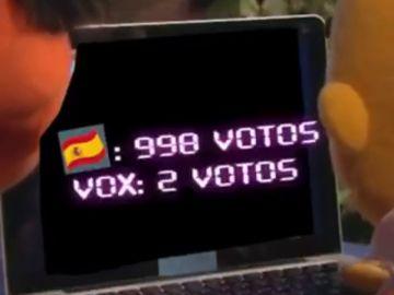 """Cargos del PP difunden un vídeo con Epi y Blas explicando que votar a Vox impide echar al """"okupa"""" de Sánchez"""