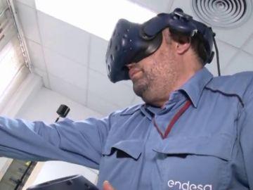Realidad virtual para formar en seguridad laboral