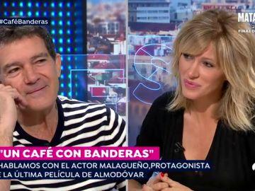 Un café con Antonio Banderas
