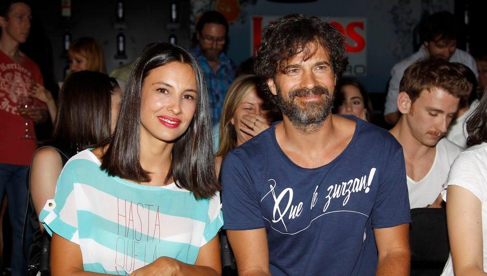 Xenia Tostado y Rodolfo Sancho