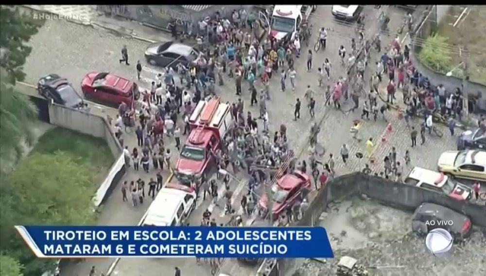 Al menos ocho muertos en un tiroteo en una escuela de Sao Paulo