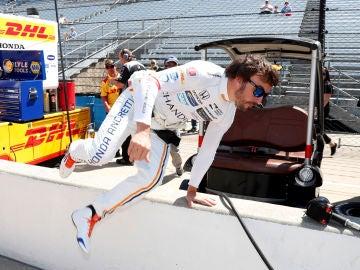 Fernando Alonso, en el Mundial de Resistencia