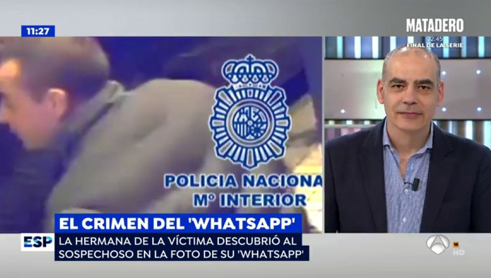 Nacho Abad explica el crimen del WhatsApp