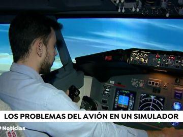 Simulador de un avión