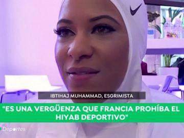 """""""Dictar a las mujeres lo que deben llevar es un problema"""": habla la primera estadounidense en competir con hijab"""