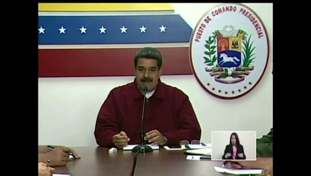 """Nicolas Maduro anuncia la creación de una comisión para investigar el """"ciberataque"""" al sistema eléctrico en Venezuela"""