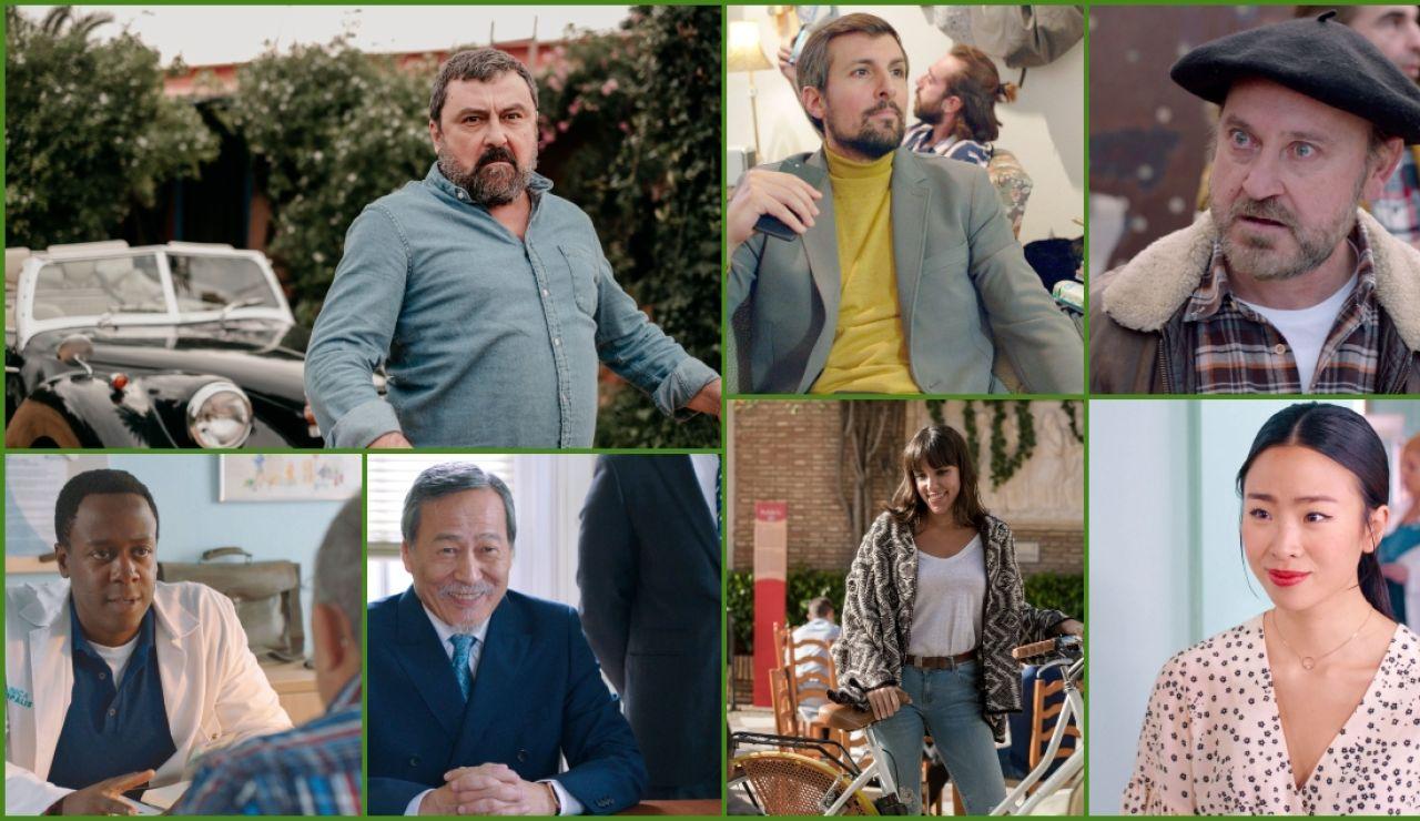 Paco Tous,Ramón Merlo, Javier Antón, Jimmy Castro, Kao Chenmin, Rocío Peláez y Songa Park se incorporan a la quinta temporada de 'Allí Abajo'