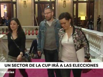 Un sector de la CUP irá a las elecciones