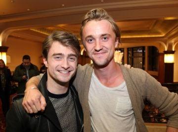 Daniel Radcliffe y Tom Felton, amigos durante años
