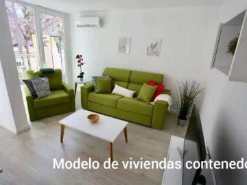 La instalación de los pisos contenedores en Barcelona se ralentiza por la burocracia