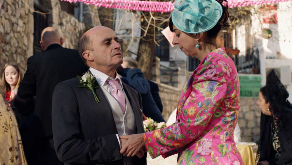 Alfonso y María José se reconcilian tras enfrentarse a Fermín