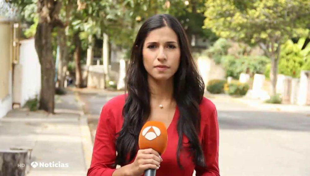 La periodista Amanda Sánchez