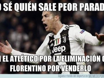 Memes del Juventus vs Atlético