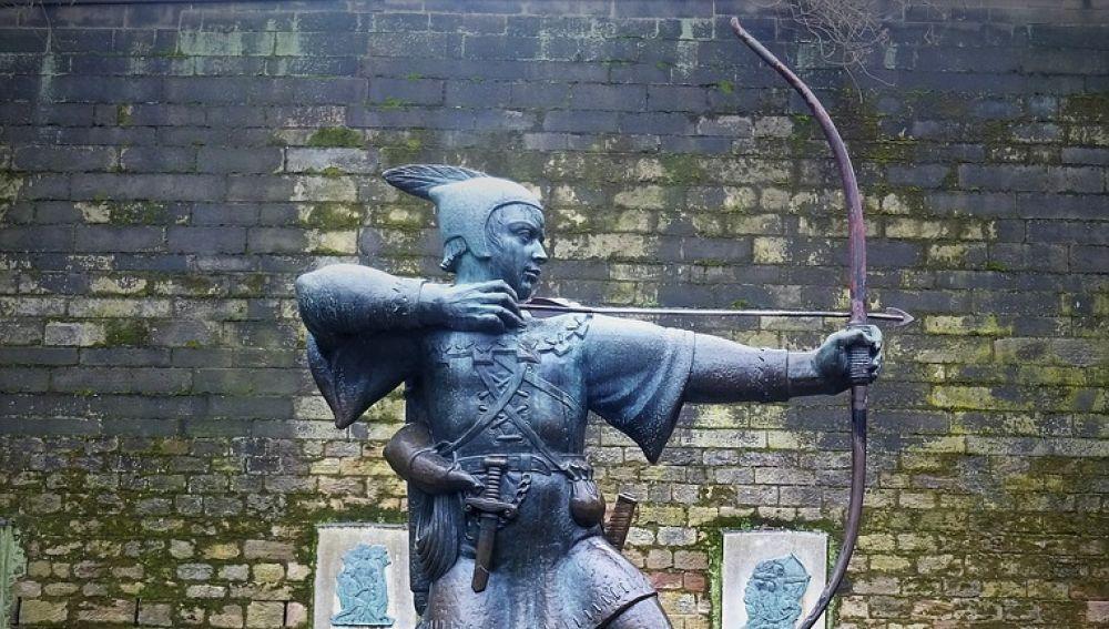 Estatua de Robin Hood