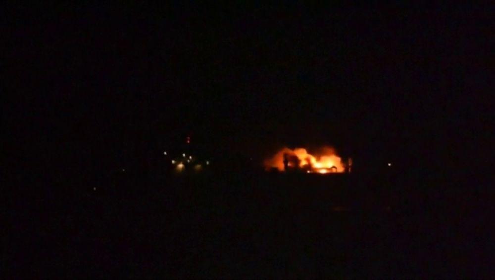 Un barco de carga italiano se hunde tras un incendio en el Golfo de Vizcaya