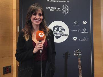 """Marina San José:""""'45 Revoluciones' es toda una revolución en televisión, no se han hecho series en este formato"""""""