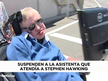Inhabilitan  a la enfermera que cuidó a Stephen Hawking por no atender correctamente al científico