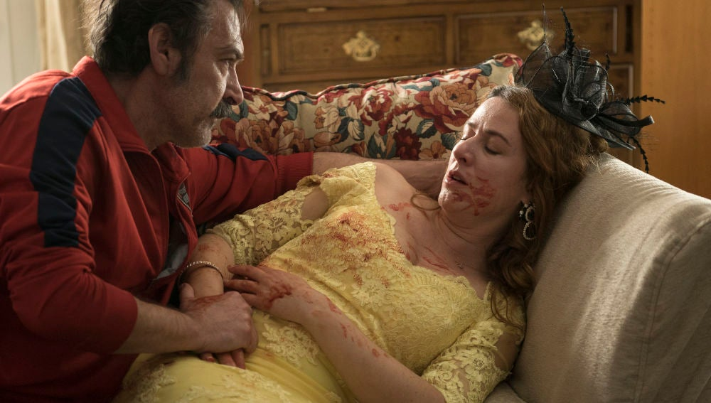 El triste final de Almudena al morir en brazos de Pascual