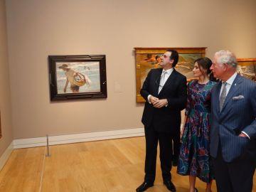 La Reina Letizia y el Príncipe de Gales inauguran una exposición de Sorolla en la National Gallery de Londres