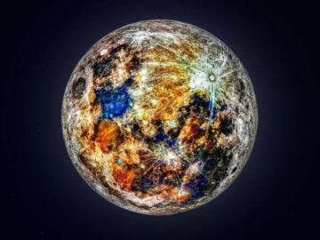 Los colores de la Luna
