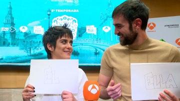VÍDEO: El divertido juego de 'Tú o yo' con María León y Jon Plazaola