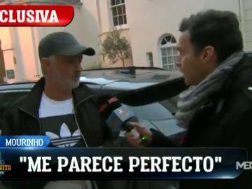 """Mourinho: """"¿Zidane? Me parece perfecto y una gran oportunidad para él"""""""