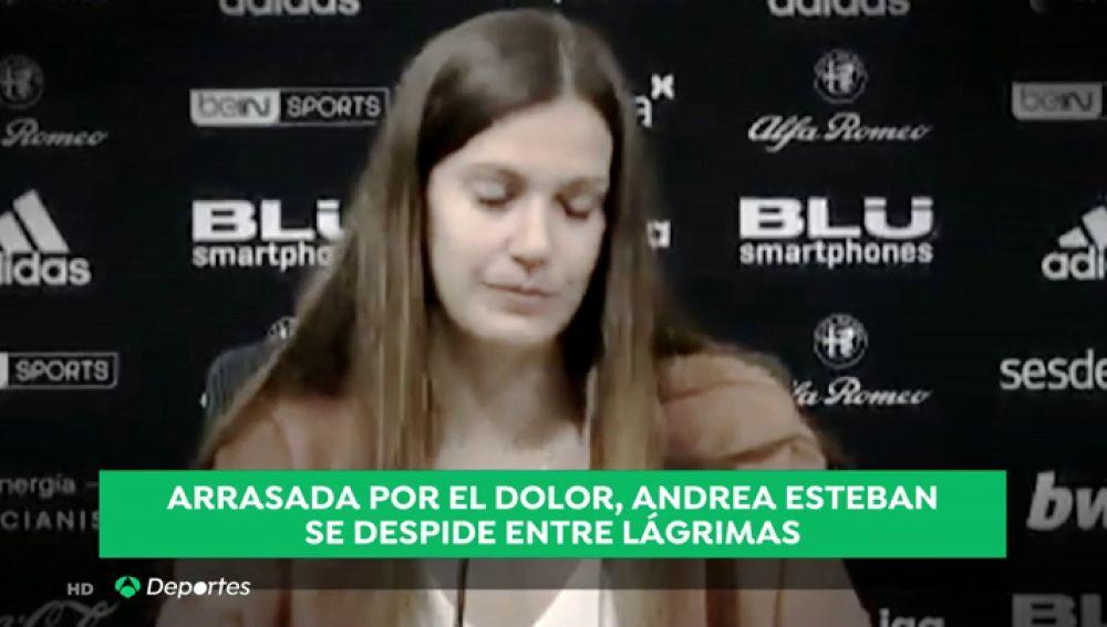 REEMPLAZO: Andrea Esteban