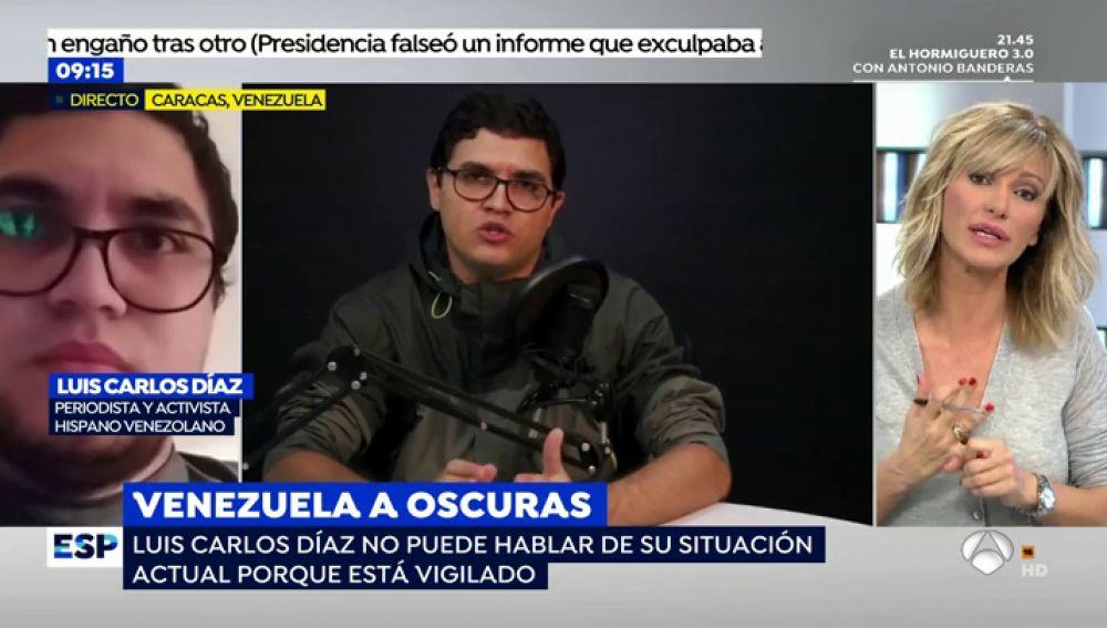 Luis Carlos Díaz, liberado.