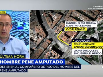 Detienen al compañero de piso del joven que apareció con el pene amputado en Zaragoza