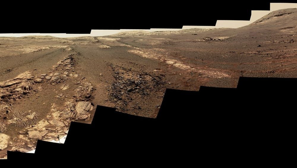 La NASA divulga una composición de 360° con las últimas imágenes del Opportunity