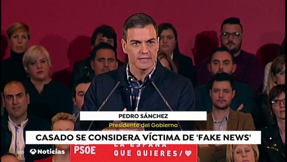 """Sánchez, sobre las declaraciones de Casado: """"Ayudar a la maternidad es ayudar a los padres y a las madres, no quedarse con los hijos"""""""