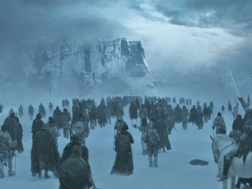 El Muro de 'Juego de Tronos'