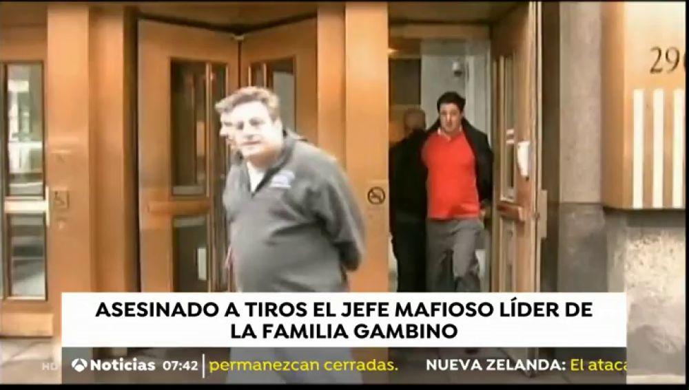 Asesinado a tiros el jefe mafioso de la familia Gambino